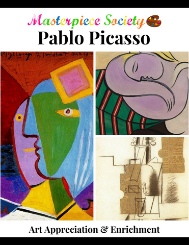 Picasso Study - Masterpiece Society Art Appreciation