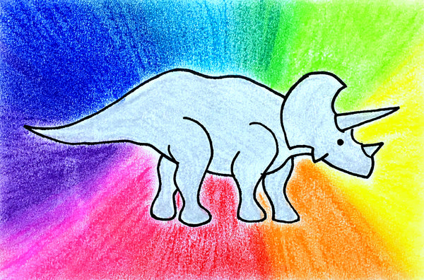 Dinosaurs: Mixed Media Art for Kids K-2