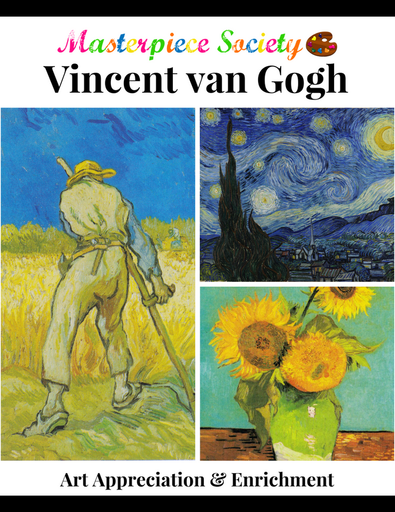 Van Gogh Study - Masterpiece Society Art Appreciation