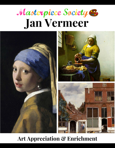 Vermeer Study - Masterpiece Society Art Appreciation