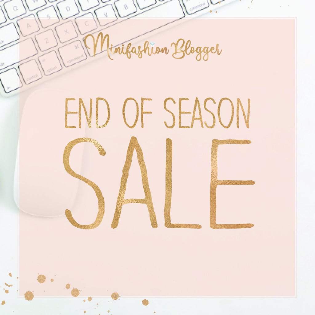 May End of Season Sale (10th May 2020)