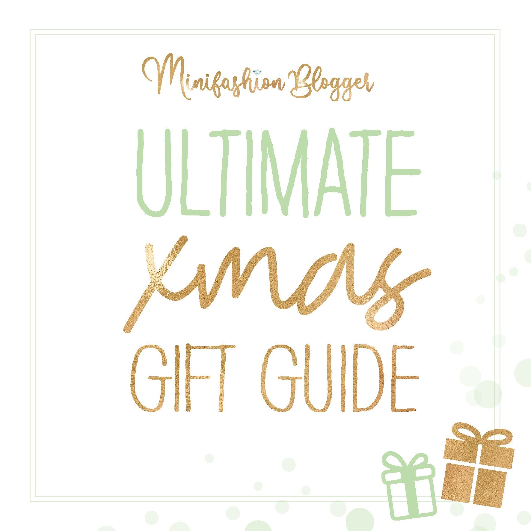 Christmas Gift Guide (25th October)