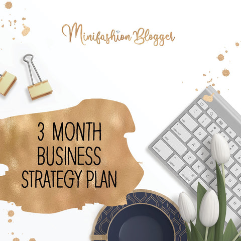 3 Month Business Strategy Plan