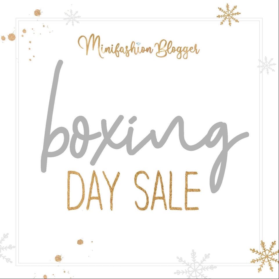 Boxing Day Sale (24th December)