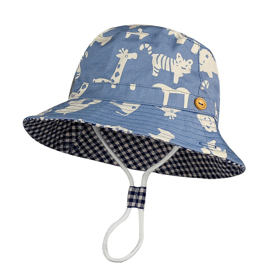 Cute Baby Hats Summer Spring Baby Boys Girls Print Caps Kids Cartoon Hat Sunhat Enfant Baby Hat Newborn Baby Accessories