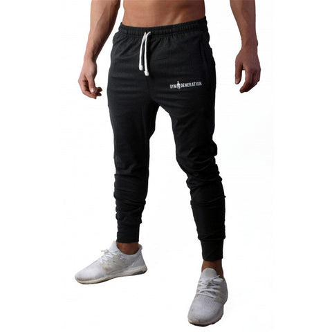 Mens Casual Jogger Active Sweatpants Gym Training Workout Long Pants Trousers
