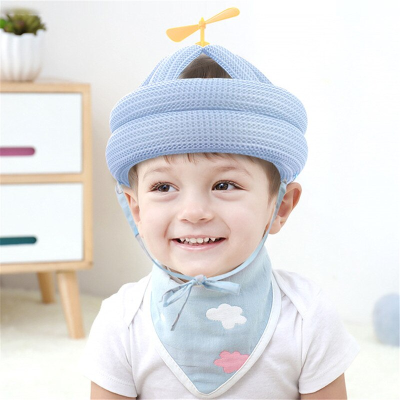 Baby Cap Helmet Anti-collision Protective Hat Toddler Anti-fall Head Protection Cushion Safety Pillow Adjustable Cap Boy Girl