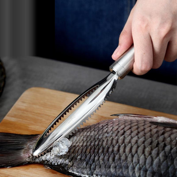 Kitchen tool fish cleaning knife skinning machine fish skin scraper stainless steel fish scale cleaning and removing device