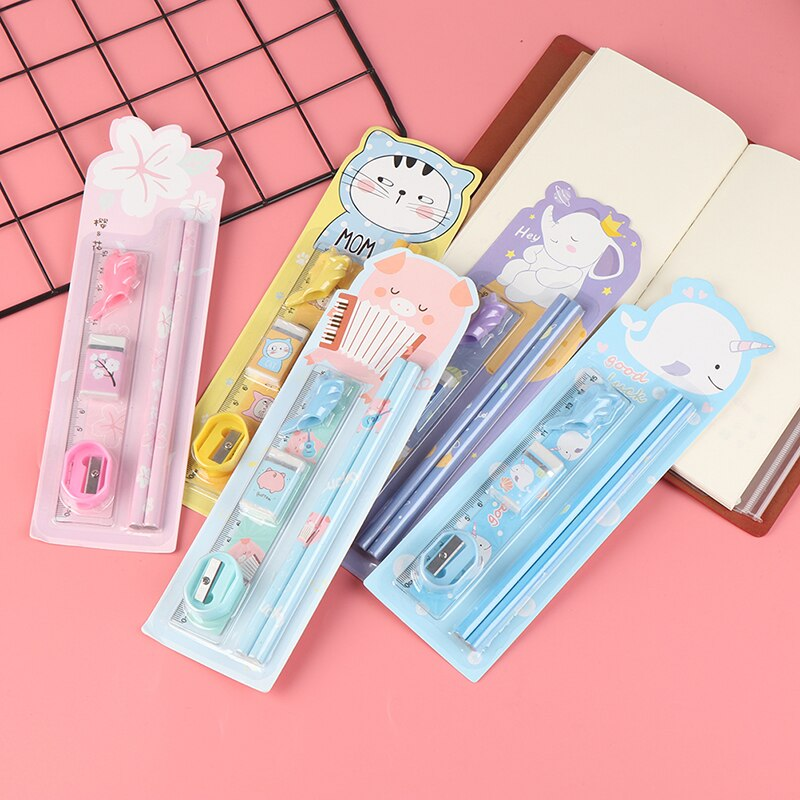 Finance Plan 10Pcs Soft Rubber Erasers Students Stationery School Office Correction Supplies School Supplies