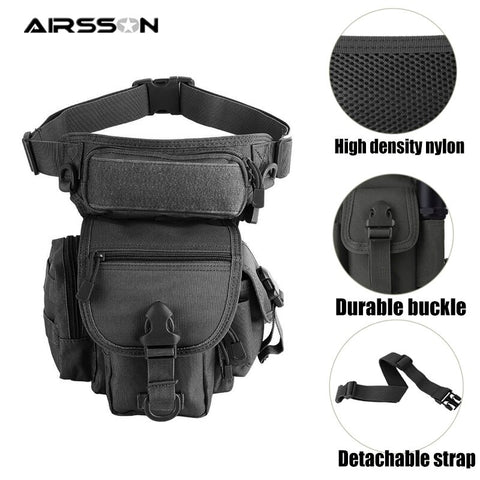 Tactical Messenger Bags Durable 1000D Nylon Hunting Molle Bag Shoulder Hand Bags