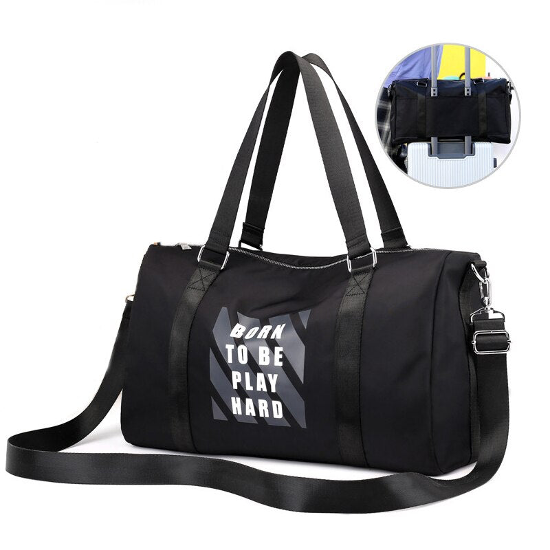 Oxford Travel Bag Large Capacity Unisex Hand Luggage Packing Cubes Duffle Bag Weekend Women Multifunctional for Waterproof bag