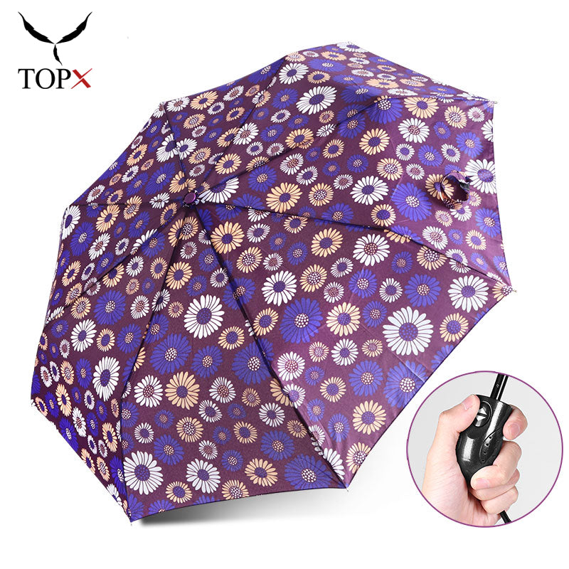 Flamingo Umbrella Mini Lightweight Folding Handbag Umbrella Animal Lovers Gift