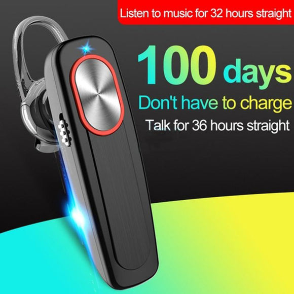 4 Colors Wireless Bluetooth Earphone Headset Long Standby Built-in 300mAh Battery With Mic Handsfree For Xiaomi Huawei Samsung