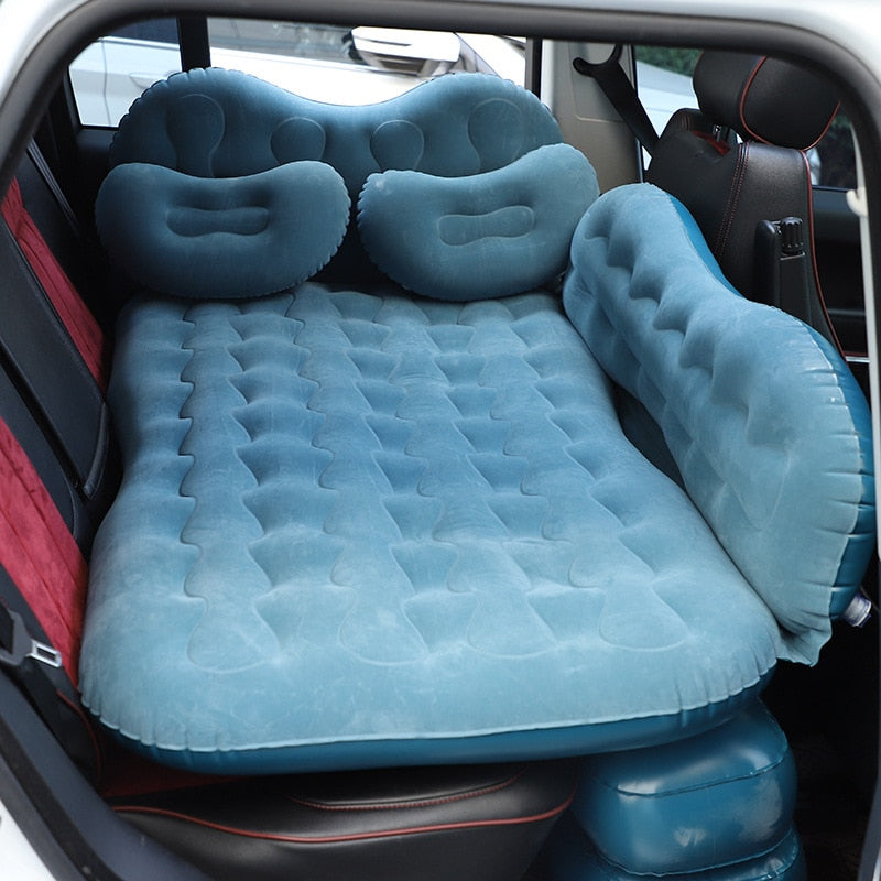 Car Travel Bed Mattress Seat Camping Air Bed Sofa Inflatable Car Bed For Back Seat Sleep SUV    Colchao Inflavel Auto Accessoire