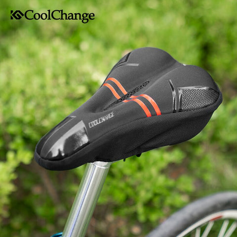 Bike Seat Cushion Bicycle Thick Saddle Cover Road Bike Sponge Cycling Seat Cover