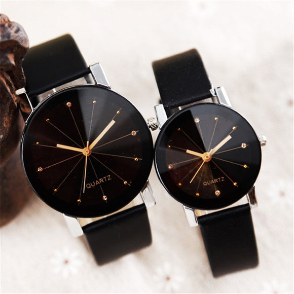 Couple Watch Temperament Simple Men and women Personality Creative Student Trend Casual Quartz Valentine's Day gift birthday