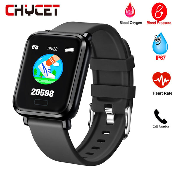 Smart Watch Blood Pressure Oxygen Sport Fitness Tracker Health Heart Rate Monitor Sleep monitoring IP67 Waterproof Smartwatch