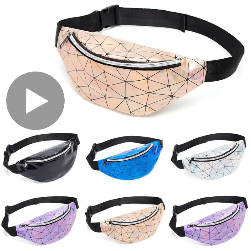 Belly Banana Bum Hip Chest Belt Waist Bag For Women Funny Fanny Pack Female Pouch Murse Purse Kidney Holographic Bumbag Canguro