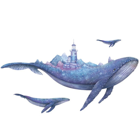 Custom Silk Poster Children of the Whales Wall Decor