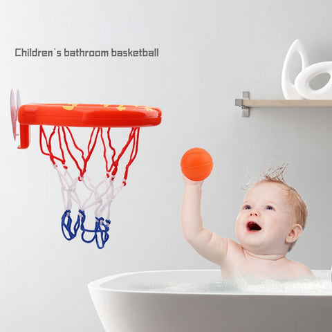 Baby Bath Toys Kids Basketball Hoop /& Balls Set Fun Ball Games in Bath Shower Bathtub Shooting Game for Toddlers Kids Little Boys Girls Hoop with 3 Mini Basketball