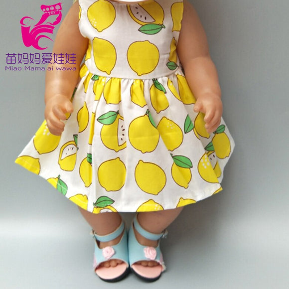 40cm babies doll yellow dress sun hat for 18 inch girl doll dress hat baby girl doll clothes