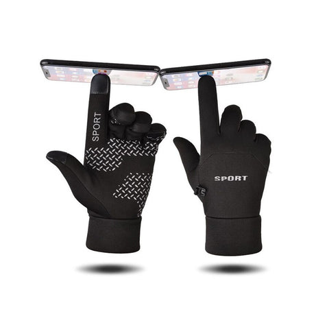 Waterproof Motorcycle Rider Protective Gloves Touch Screen Winter Warm DD