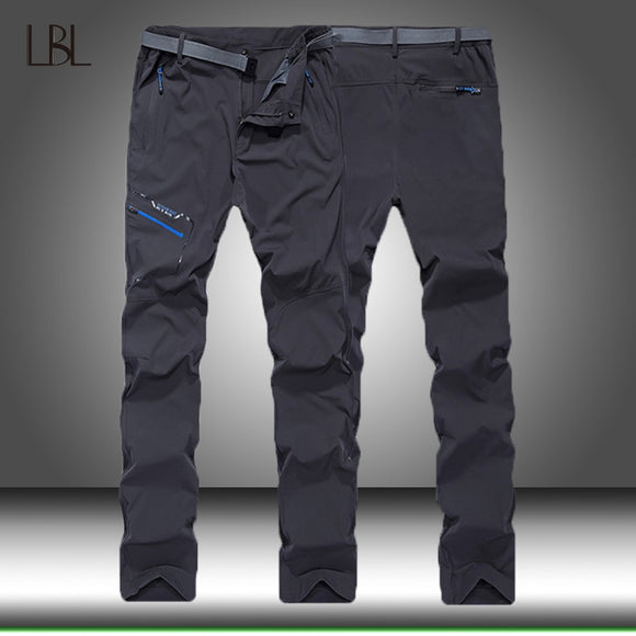 Outdoor Hiking Tactical Waterproof Pants Men Climbing Quick Dry Fishing Trekking Softshell Trousers Mens Casual Cargo Pants