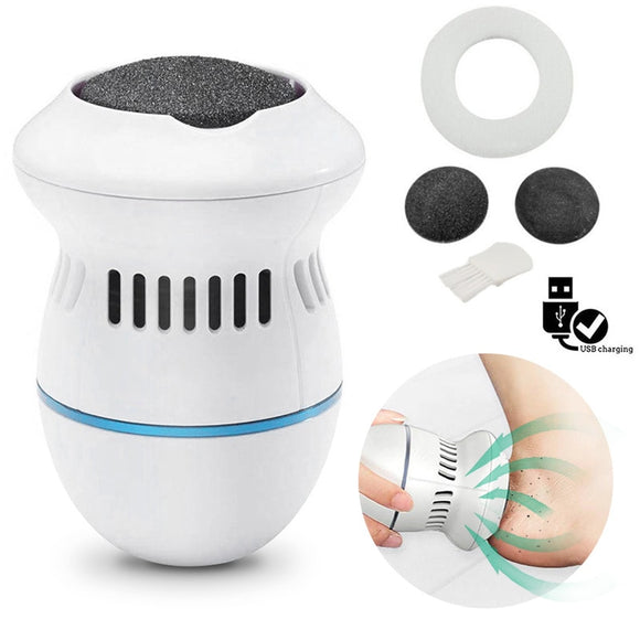 New Electric Pedicure Tools Foot Care Tool Remover Absorbing Machine Dead Skin Callus Remover Foot Polisher USB Rechargeable