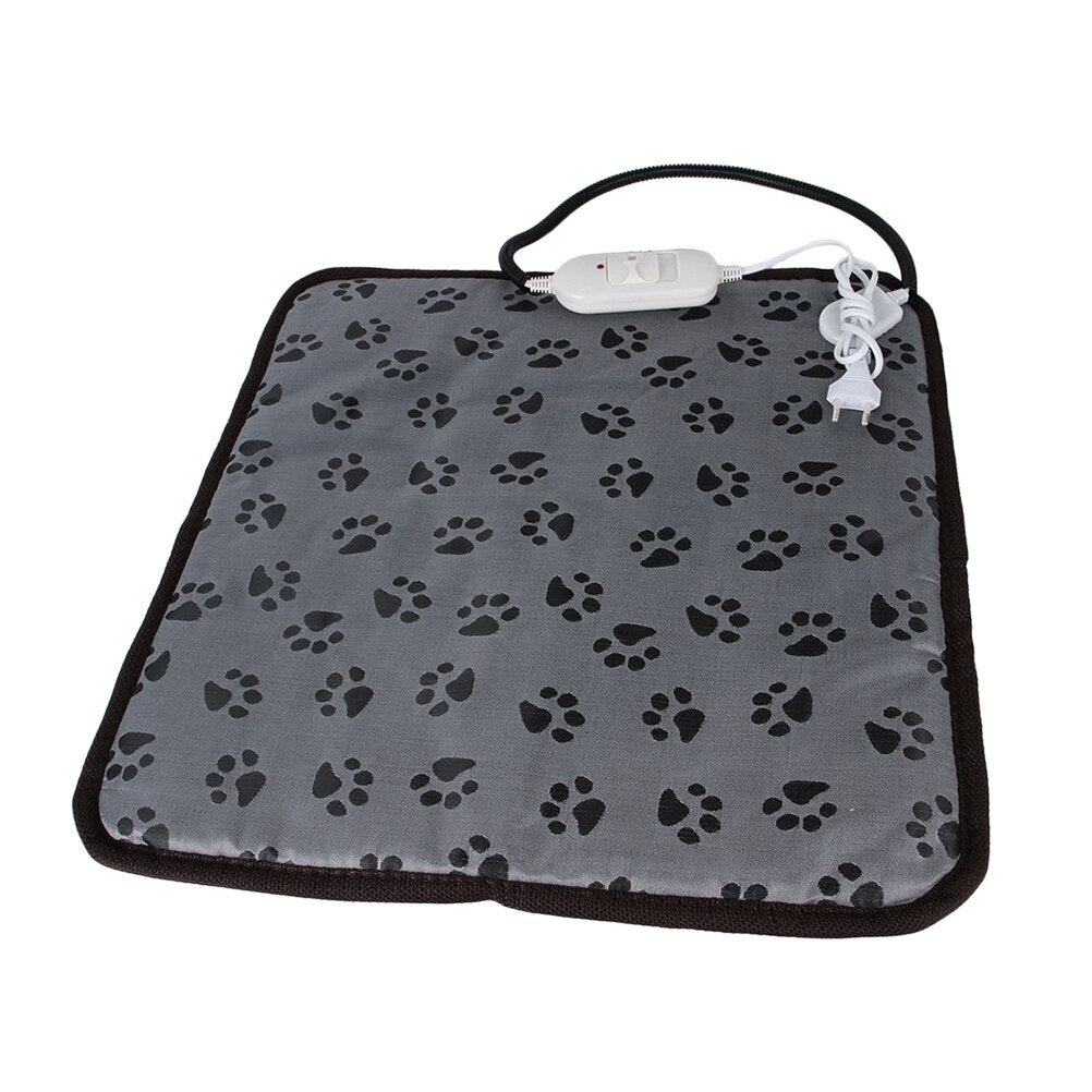 1pcs Heating Pad Footprint Practical Electric Blanket Heater Mat Pet Supplies Warmer Heating Pad for Cat Dog A30