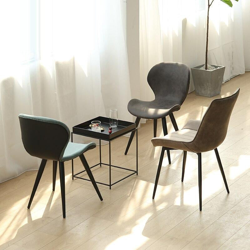 Modern Dining Room Chair  Formal Dinning Chairs  Bedroom Makeup Chair Coffee Shop Single Sofa Chair Wood Kitchen Dining Chairs