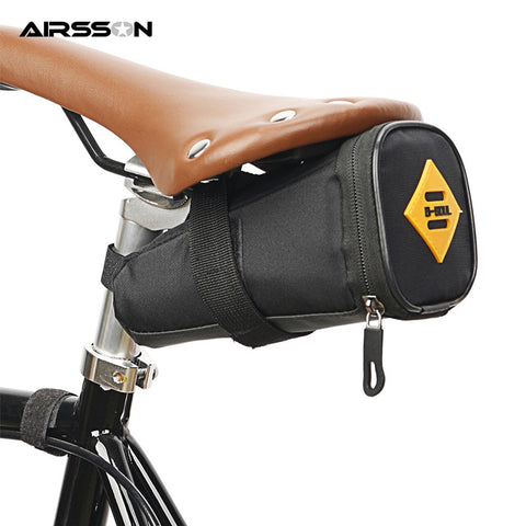 Bicycle Bike Waterproof Storage Saddle Bag Seat Outdoor Cycling Tail Rear  #BUY