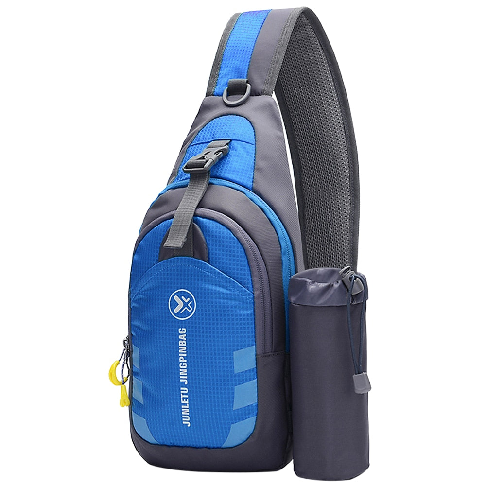 Lixada Men Women Fitness Sport Bag Sling Backpack Gym Bag Chest Crossbody Bag Shoulder Backpack Travel Sports Gym Daypack