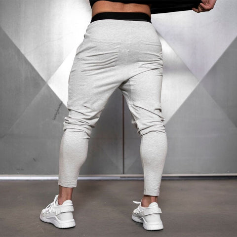 Men/'s Casual Color Spliced Drawstring Sports Jogger Pants Thicken Track Trousers