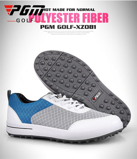Women Golf Shoes Breathable Anti-Slip Sneakers Shoes Comfortable Wearable Good Grip Resistant Golf Shoes B2855