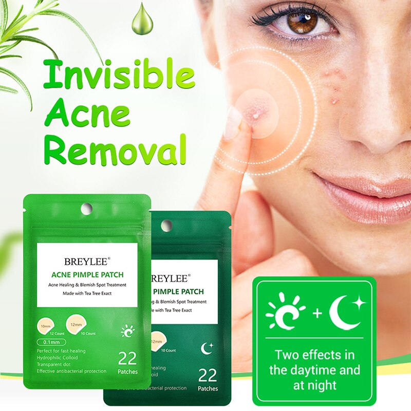 Invisible 0.1mmAcne Pimple Removal Patch  Anti Acne Stickers Treatment absorb Pimple Secretions For Daily Night  Skin Care Tool