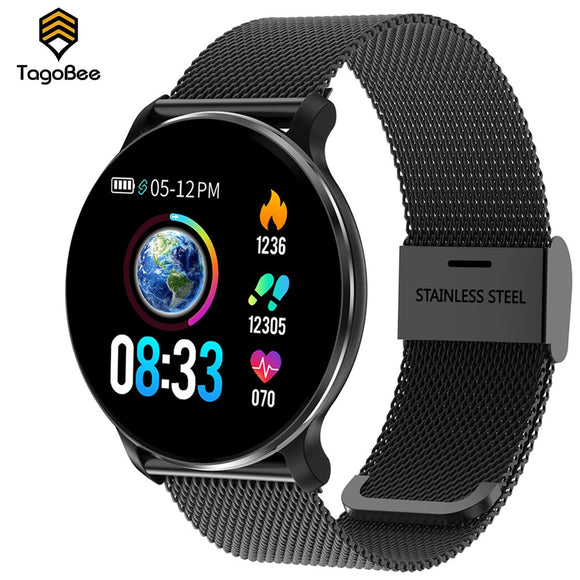 TagoBee 2020 Smart Watch Message Call Reminder Waterproof Men Smartwatch Heart Rate Monitor Women Fitness Tracker Android iOS