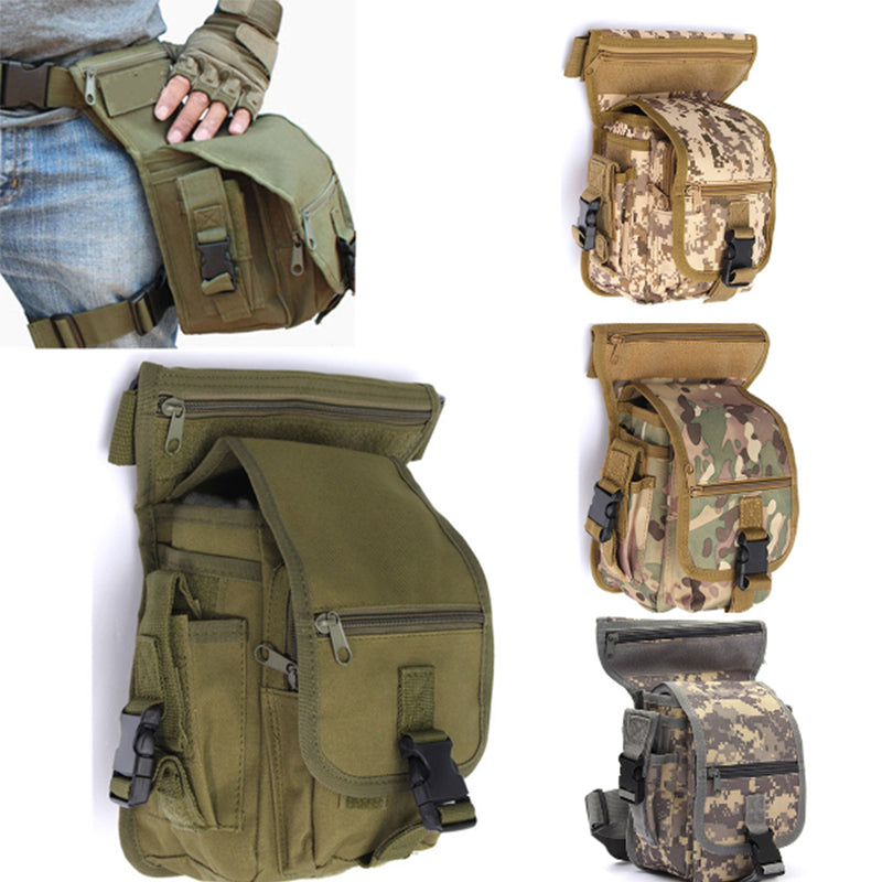 Outdoor Waist Pack River Fishing Bag Training Leg Bags Army Military Hiking CampingMan Waist Pack Waterproof Man Sport Chest Bag