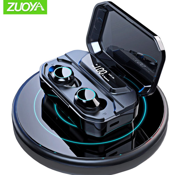 Mini Wireless Earphones Bluetooth 5.0  TWS Earbuds Touch Control Earphone Handsfree Sport Gaming Headset with Charging box