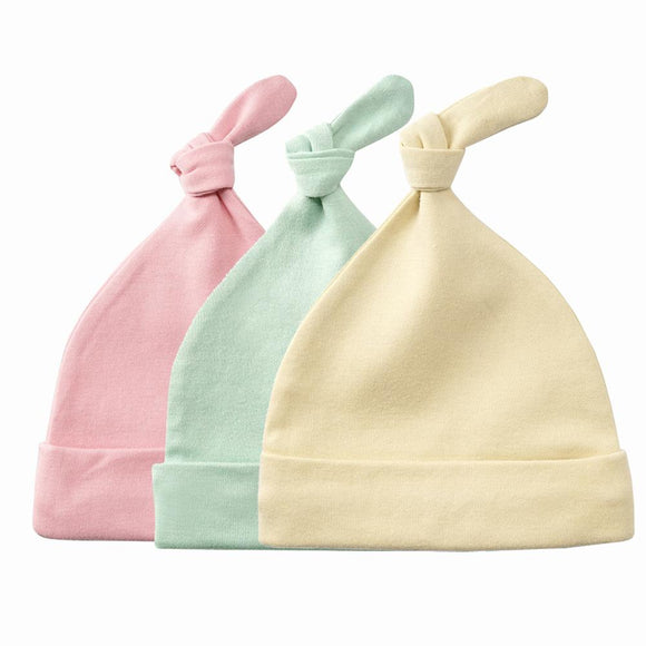 0-3Month  Baby Boy And  Baby Girl Hat 0-6 Months Newborn Pure Cotton Cap Baby Hat Baby Accessories