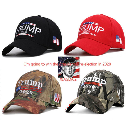 Donald Trump Make America Great Again Red Bike Motorcycle Hat Cap lapel Pin
