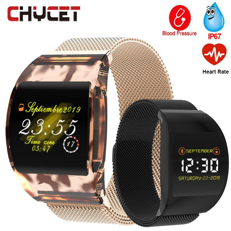 New Fashion Smart Watch Men Women Blood Pressure Smartwatch Watch Waterproof Smart Watches Health Bracelet reloj For Android IOS