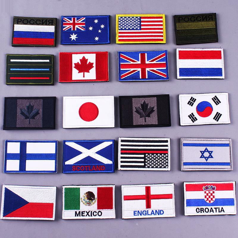 Walking Sticks Country Flags Spain,Italy,Germany,Portugal,Mexico,Russia,France