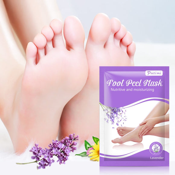 Lavender Nourishing Peeling Foot Mask Removal Dead Skin Whitening Foot Mask Foot Cream Feet Care Tool