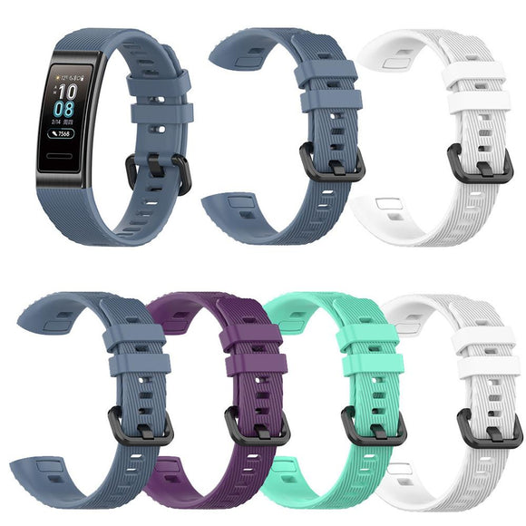 Sports Silicone Strap Band Wrist Strap Bracelet For Huawei 3 /3 Pro Smart Watch Bracelets Accessories 3Pro wristband #117