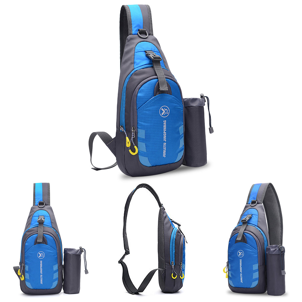 Sling Backpack Chest Crossbody BagMen Women Shoulder Bag Travel Sports Gym Daypack Water-resistant For Camping Hiking Traveling