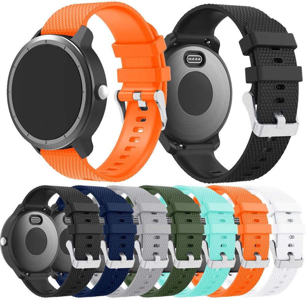 For Garmin Vivoactive 3 Soft Silicone Replacement Sport Wirst Band Strap Men/women watch Bracelets Wearable accessories #724