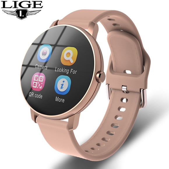 2020 New fashion Fitness smart watch sports Waterproof For iPhone/Android smartwatch men women Heart rate Blood pressure tracker