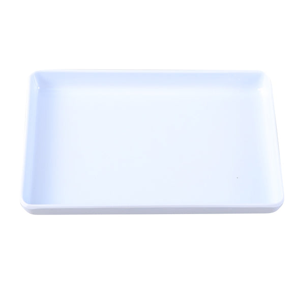 1pc Trinket Tray Decorative Plastic White Holder Storage Organizer Jewelry Dish Plate for Rings Bracelets Earrings A20