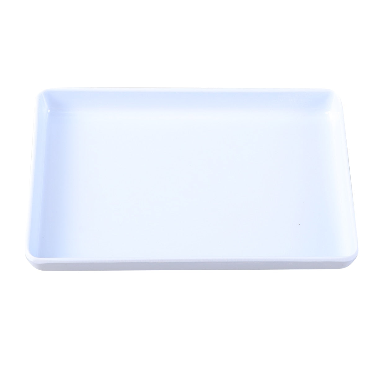 Trinket Tray Decorative Plastic White Holder Storage Organizer Jewelry Dish Plate for Rings Bracelets Earrings Storage Boxes A3