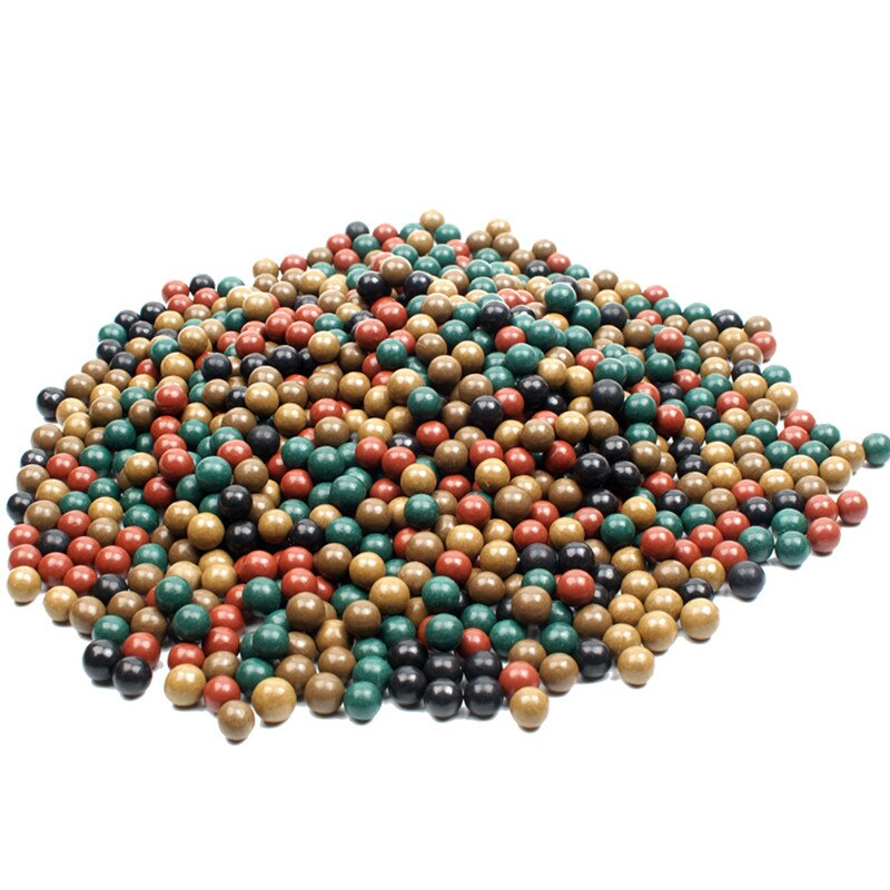 100pcs  Safety Mud Pills And Hard Mud Ball Outdoor Hunting Slingshot Dedicated Environmental Health Marbles Slingshot